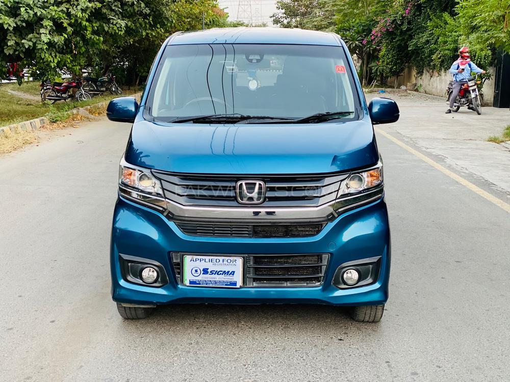 Honda N Wgn Custom G Turbo 2014 - Sigma Motors